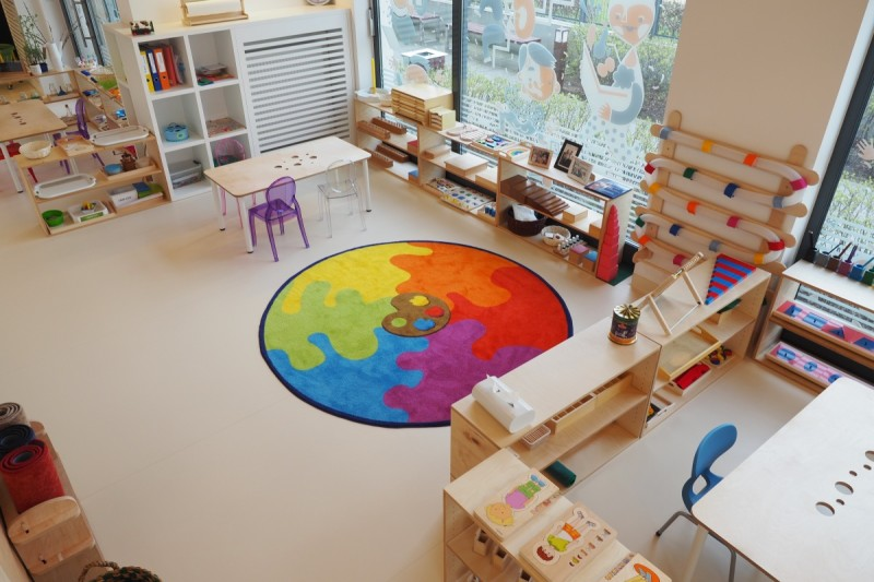 Wnętrza przedszkola
